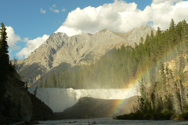 Wapta Falls on the Kicking Horse River